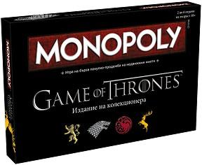 """Монополи: Игра на тронове - Семейна бизнес игра от серията """"Game of Thrones"""" -"""