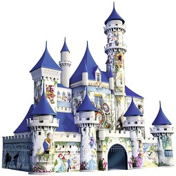 Замъкът на Дисни - 3D пъзел -
