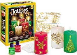 Създай сам - Коледни свещи - Творчески комплект -