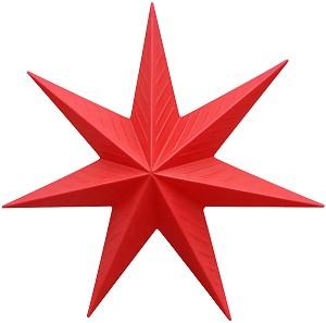 Светеща фигура - Звезда -