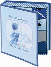 """Картонена кутия за спомени - Oт серията """"Alex & Bibou"""" -"""