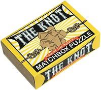 """Умен възел - 3D дървен пъзел от серията """"Matchbox Puzzle"""" -"""