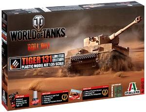 """Танк - Tiger 131 - Сглобяем модел от серията """"World of Tanks: Roll Out"""" -"""