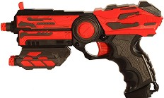 Пистолет - Save The Crisis: Basic - Комплект с 6 броя меки стрелички -