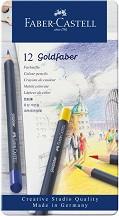Цветни моливи - Goldfaber - Комплект от 12, 24, 36 или 48 цвята -