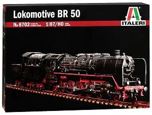 Парен локомотив - BR 50 - ЖП сглобяем модел -
