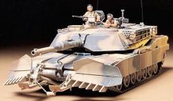 Танк за изравяне на мини - M1A1 Abrams - Сглобяем модел -
