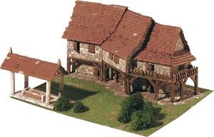 Country houses - Сглобяем модел от тухлички -