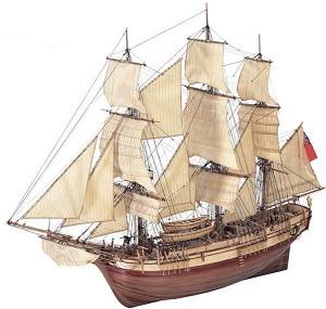 H.M.S Bounty - Сглобяем модел на кораб от дърво -