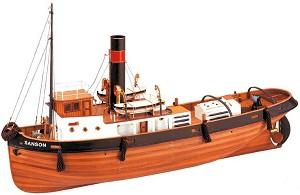 Буксир - Sanson - Сглобяем модел от дърво -