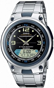"Часовник Casio Collection - AW-82D-1AVES - От серията ""Casio Collection"" -"