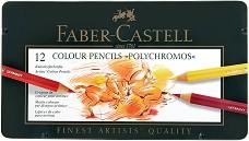 Цветни моливи -  Polychromos - В метална кутия -
