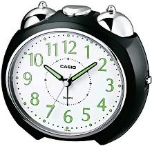 """Настолен часовник Casio - TQ-369-1EF - От серията """"Wake Up Timer"""" -"""