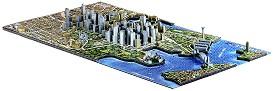 """Сидни, Австралия - 4D пъзел от серията """"Cityscape - History Over Time"""" -"""