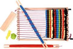 Детско дървено станче за тъкане -