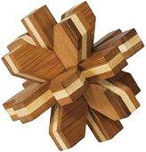Кристал - 3D пъзел от бамбук -
