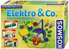Образователен конструктор - Elektro & Co. - 60 експеримента по електротехника -