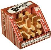 """The Log Pile - 3D бамбуков пъзел от серията """"The Bamboozlers"""" -"""