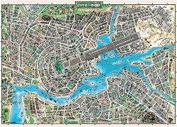 Карта - Градът на музиката -