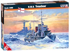 Военен кораб - HMS Ivanhoe - Сглобяем модел -