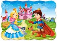 Принцът и принцесата - Пъзел в нестандартна форма -