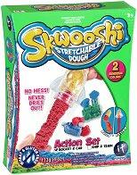 """Забавно тесто за моделиране - Кола и ракета - Творчески комплект от серията """"Skwooshi"""" -"""