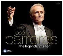 Jose Carreras - The Legendary Tenor - 3 CD -
