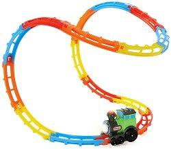Локомотив с релси - Tumble Train - Детска играчка -