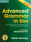 Advanced Grammar in Use - Third Edition : Ниво C1 - C2: Граматика по английски език + отговори - Martin Hewings - речник