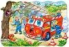 Пожарникари - Пъзел с едри елементи -
