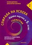 Спирала на успеха: Какво научих в 5. клас - Геометрия - Лилия Дилкина, Константин Бекриев -