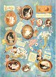 Декупажна хартия - Бебета 026 - Дизайн на Nerida Singleton