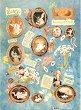 Декупажна хартия - Бебета 026 - Дизайн на Nerida Singleton -
