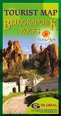 Belogradchik rocks - Tourist map -