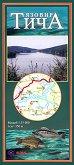 Туристическа карта - Язовир Тича - М 1:35 000 - карта