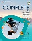 Complete Key for Schools - Ниво A2: Учебник Учебен курс по английски език -