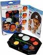 """Бои за рисуване върху лице - Момче - Комплект от 11 части от серия """"Painting kit"""""""