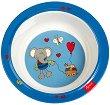 Детска меламинова купичка - Слончето Lolo Lombardo -