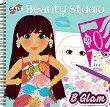 Galt: Студио за красота. Аксесоари, гримове и прически - книжка за оцветяване със стикери : Beauty Studio -