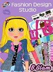 Galt: Аз съм моден дизайнер. Модно ревю - книжка за оцветяване със стикери : Fashion Design Studio -