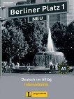 Berliner Platz Neu: Учебна система по немски език : Ниво 1 (A1): Тетрадка с упражнения - Christiane Lemcke, Lutz Rohrmann - книга