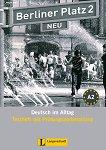 Berliner Platz Neu: Учебна система по немски език : Ниво 2 (A2): Тетрадка с тестове + CD - Margret Rodi -