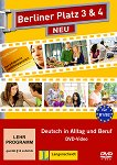 Berliner Platz Neu - ниво 3 - 4 (B1 - B2): DVD по немски език с адаптирани теми към уроците в учебника -