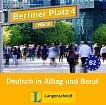 Berliner Platz Neu - ниво 4 (B2): 2 CD с аудиоматериали по немски език - Eva Harst, Susan Kaufmann, Margret Rodi, Lutz Rohrmann, Anna Pilaski, Ralf Sonntag - продукт