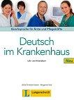 Deutsch im Krankenhaus Neu - Ниво A2 - B2: Учебник и учебна тетрадка : Учебен курс по немски език - Ulrike Firnhaber-Sensen, Margarete Rodi - книга