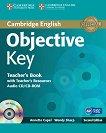 Objective - Key (A2): Ръководство за учителя + CD : Учебен курс по английски език - Second Еdition - Annette Capel, Wendy Sharp -
