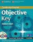 Objective - Key (A2): Учебник без отговори + учебна тетрадка без отговори + CD (Self-study Pack) Учебен курс по английски език - Second Edition - учебна тетрадка
