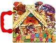 Книжка с дръжка: Къщичка в гората - детска книга