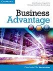 Business Advantage: Учебна система по английски език : Ниво Intermediate: 2 CD с аудиоматериали за упражненията от учебника - Michael Handford, Martin Lisboa, Almut Koester, Angela Pitt -