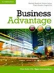 Business Advantage: Учебна система по английски език : Ниво Upper-intermediate: 2 CD с аудиоматериали за упражненията от учебника - Michael Handford, Martin Lisboa, Almut Koester, Angela Pitt -